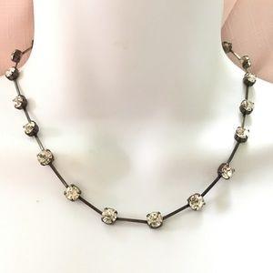 Crystal Rhinstone Choker Necklace